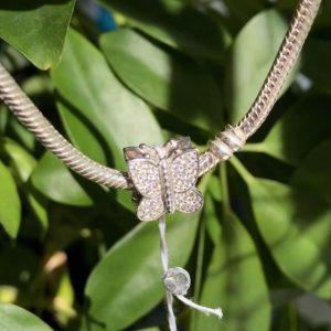 шармы Pandora купить - бабочка шарм Пандора