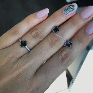 комплекты серебряные - сережки и кольцо, магазин сильвер стайл юа