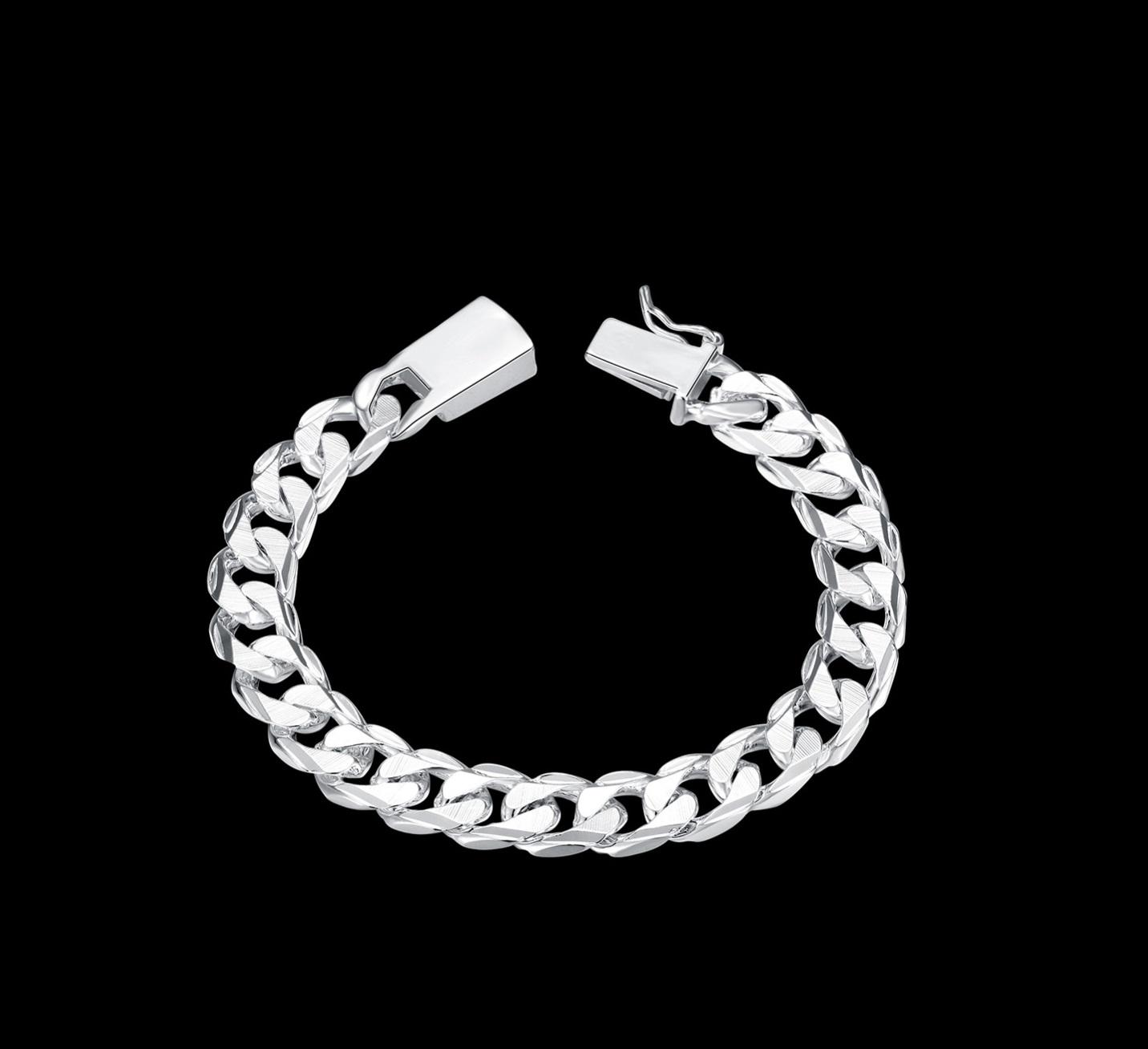 браслеты серебрянные