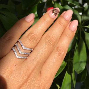 кольцо классика серебряное женское, Сильвер стайл ЮА