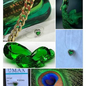 камень на силиконовой нити на шею - купить Украина, магазин Сильвер стайл ЮА