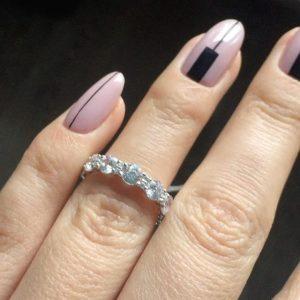 Кольца Tiffany - колечко дорожка Тифани