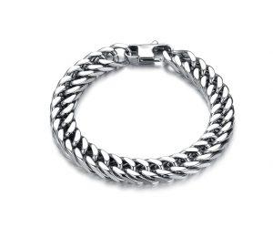 цепочки мужские серебряные - вид с боку, купить в магазине сильвер стайл ЮА