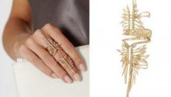 необычное кольцо на весь палец