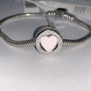 Серебряный шарм на браслет 001.175 фото
