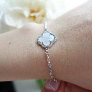 Серебряные браслеты с ониксом 001.155 фото