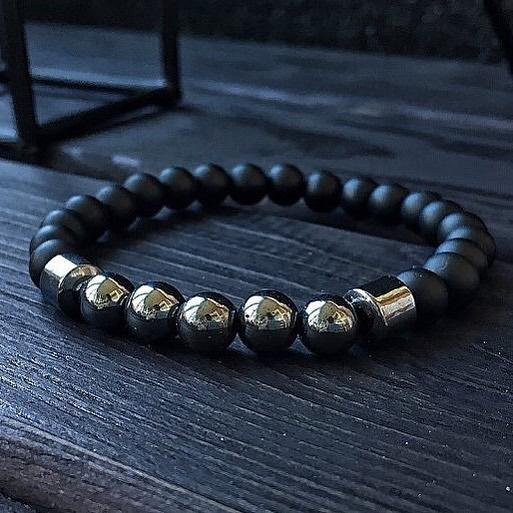 Мужской браслет из натуральных камней INSPIRE 001.221 фото