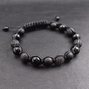 Мужской браслет из натуральных камней SHAMBALLA 001.224 фото